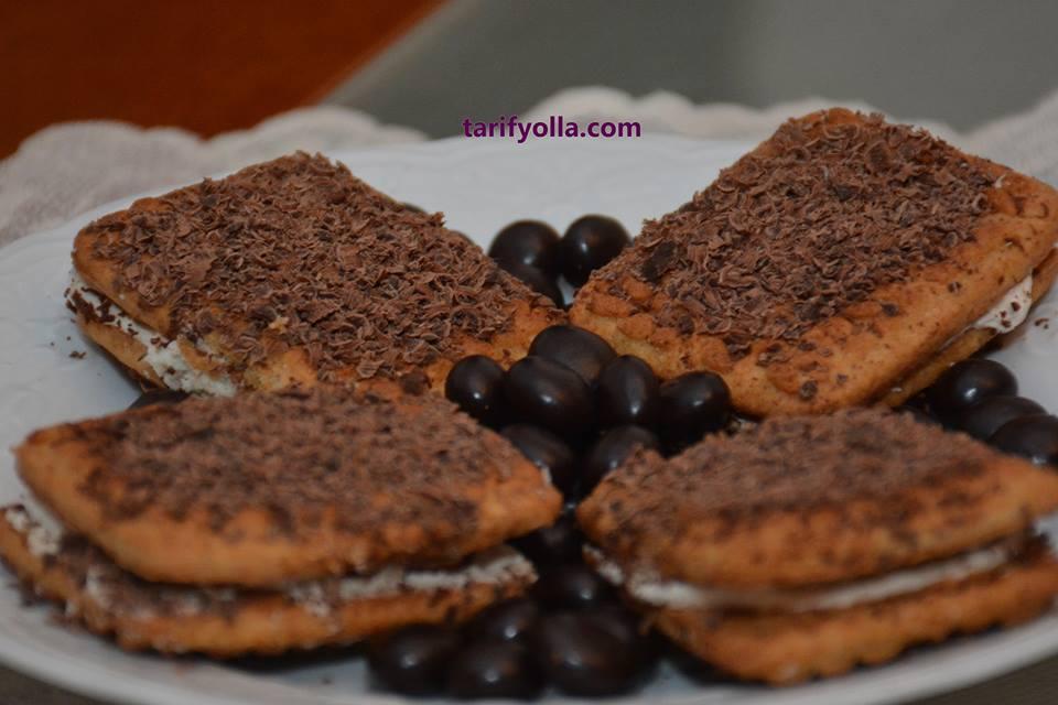 burçak bisküvi pastası