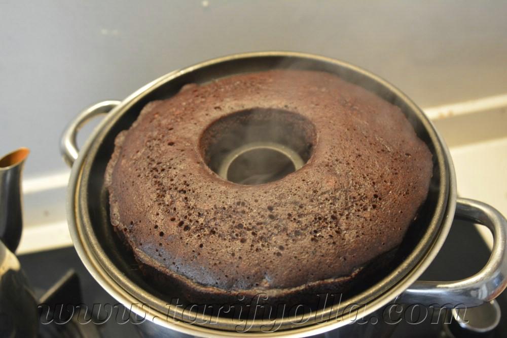 tencere keki yapımı