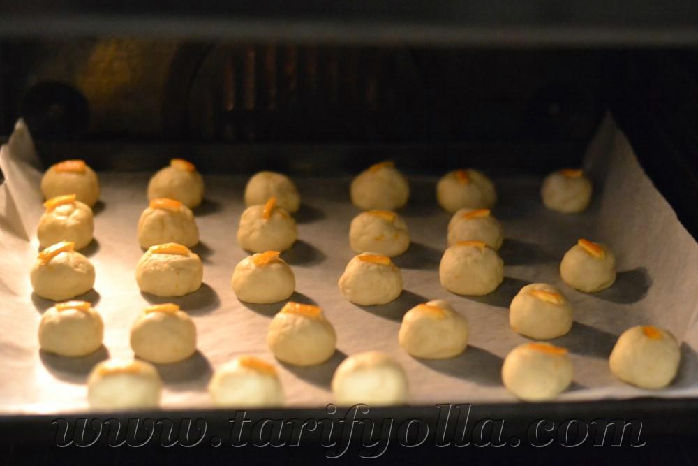 portakallı kurabiyeler
