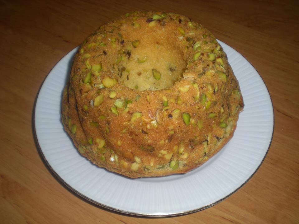 antep fıstıklı kek
