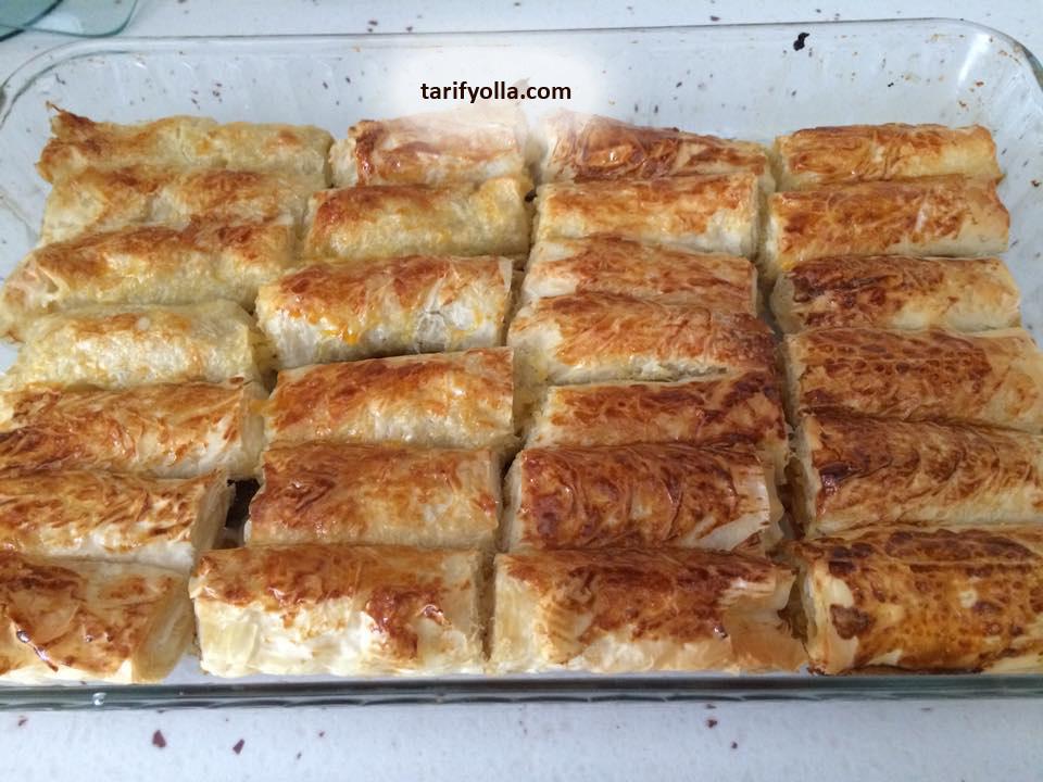 baklavalık yufkadan patatesli börek