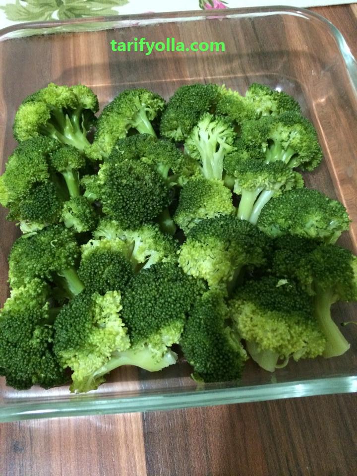 fırında brokoli