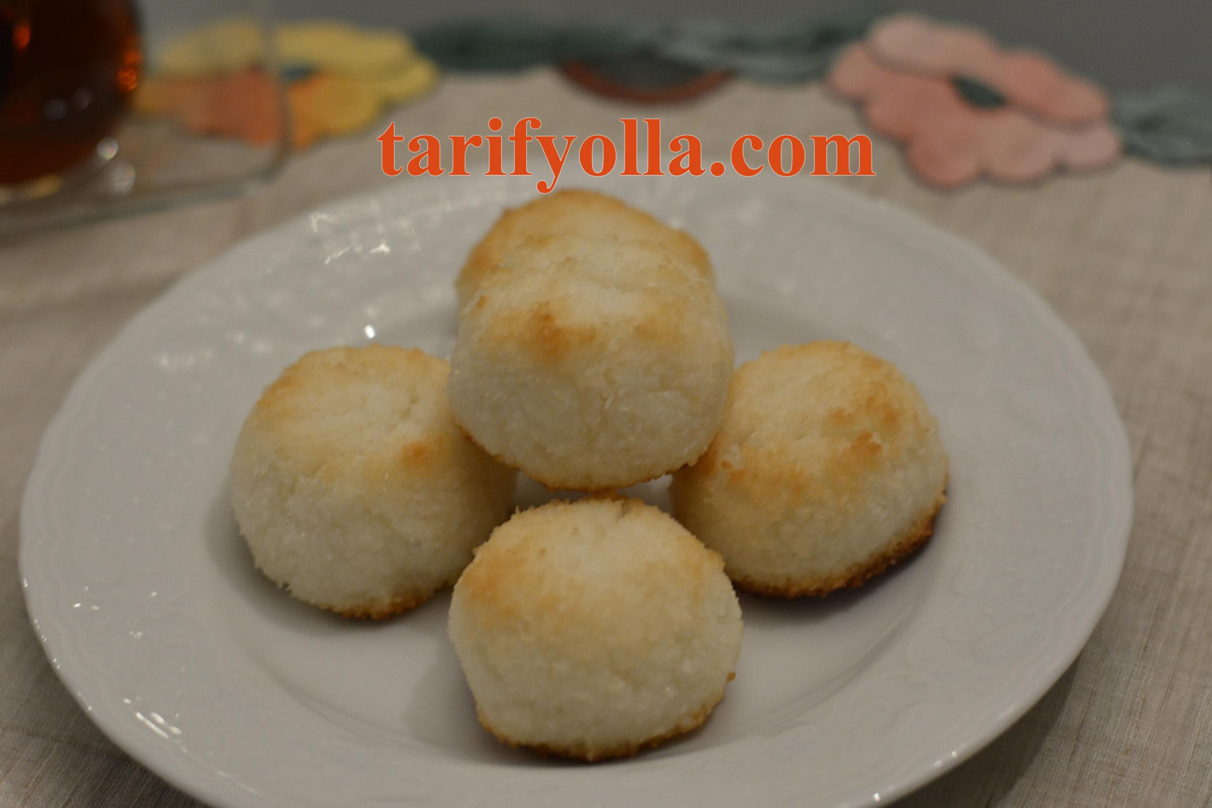 Hindistan cevizli kurabiye congolais