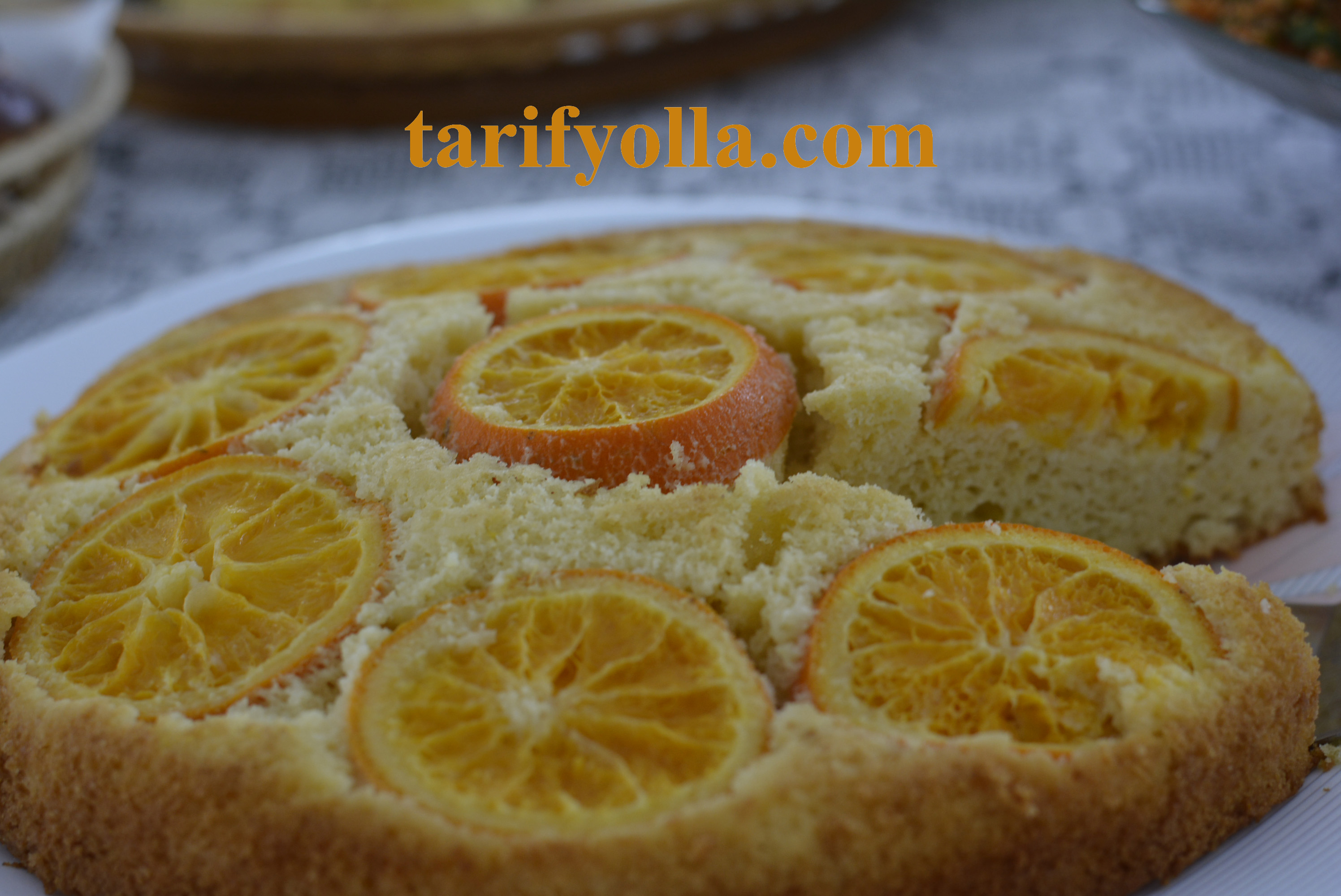 portakallı kek yapımı